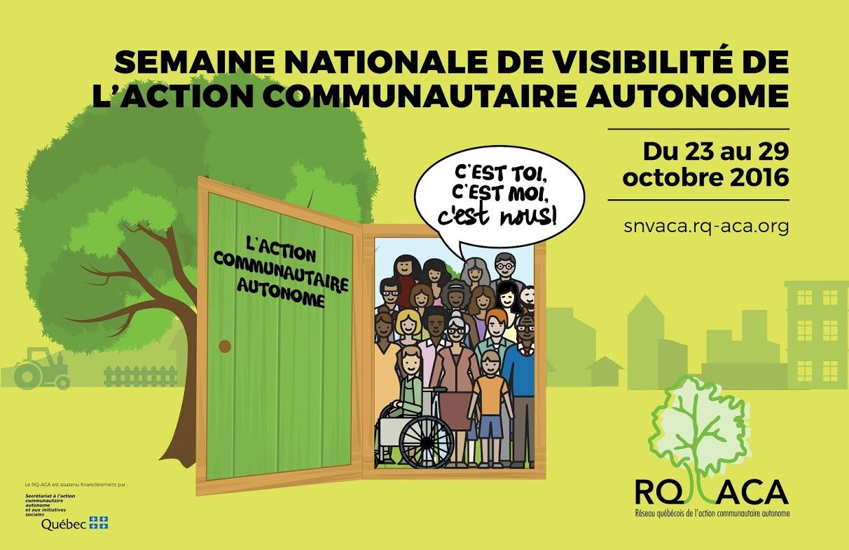 Semaine nationale de visibilité de l'action communautaire autonome