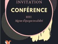Conférence sur le Régime Épargne Invalidité